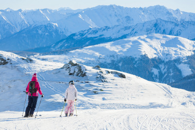 Zillertal im Winter
